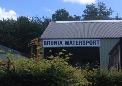 Gevelbord Brunia Watersport