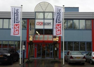 Totale bedrijfsaankleding B2C Europe Nederland