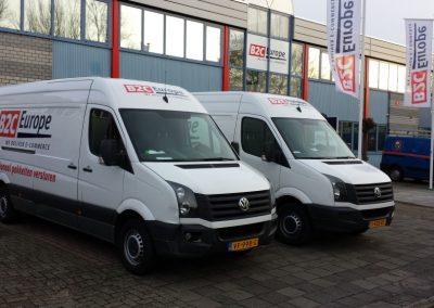 Wagenpark B2C Europe Nederland