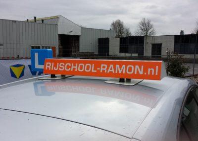 Dakbord Rijschool Ramón