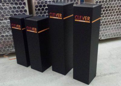 Presentatie pilaren Clever Etiketten