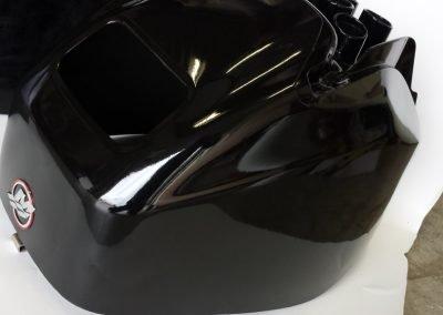 Full wrap buitenboord motor