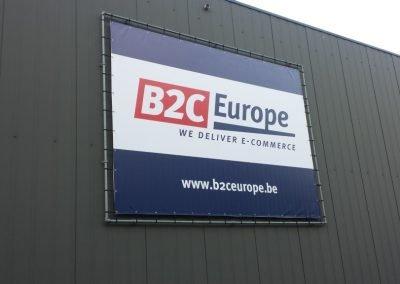 Totale bedrijfsaankleding B2C Europe België