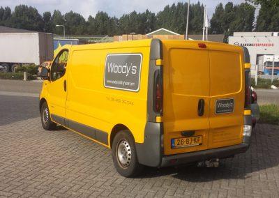Autobelettering Woodys