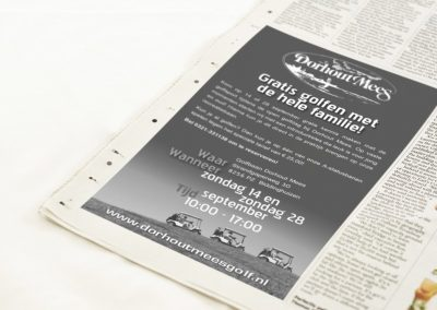 Kranten advertenties
