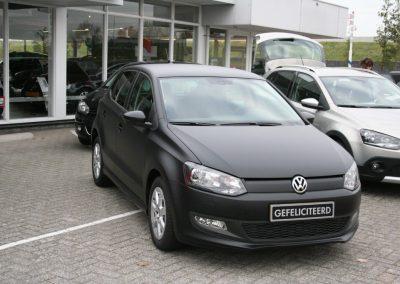 Full Carwrap mat zwart