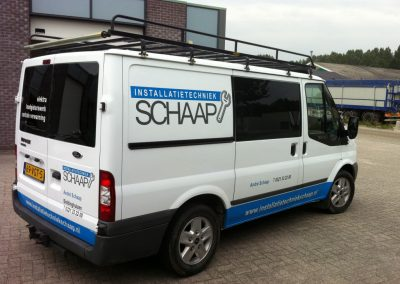 Autobelettering Ford Transit