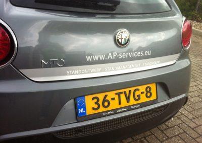 Autobelettering Alfa Romeo